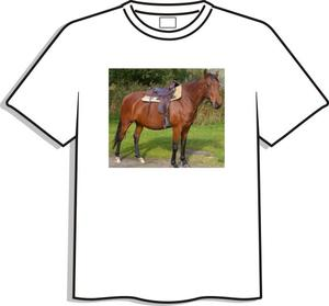 T-shirt med egen bild