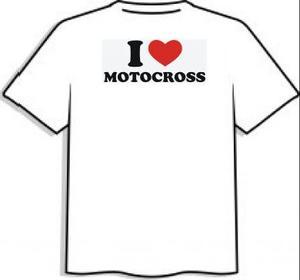 "T-shirt ""Motocross"""