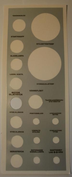Paneldekal H9-H11-H12