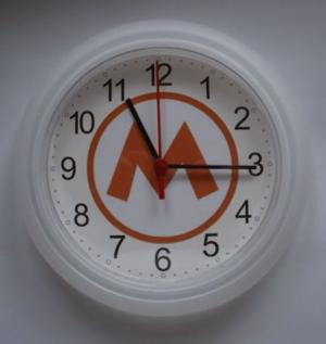 Klocka Maskinisten
